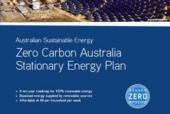 Zero Carbon Australia – Stationary Energy Report