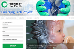 Friends of the Earth Emerging Technology Project