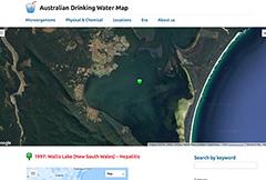 Australian Drinking Water Map