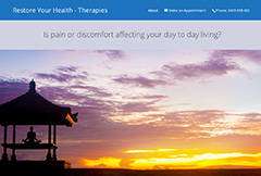 Restore Your Health – Therapies